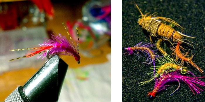 Искусственые мушки для рыбалки