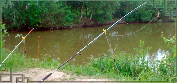 Рыбалка с донной удочкой