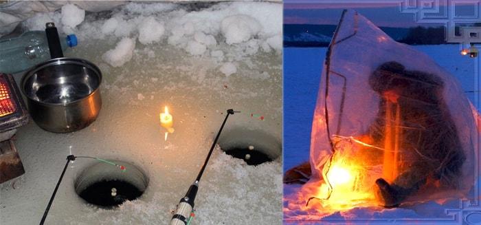 Ночная рыбалка на налима