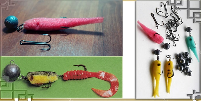 Самодельные рыбки из поролона