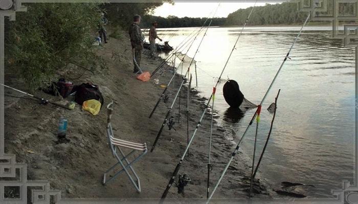 Рыбалка закидушками